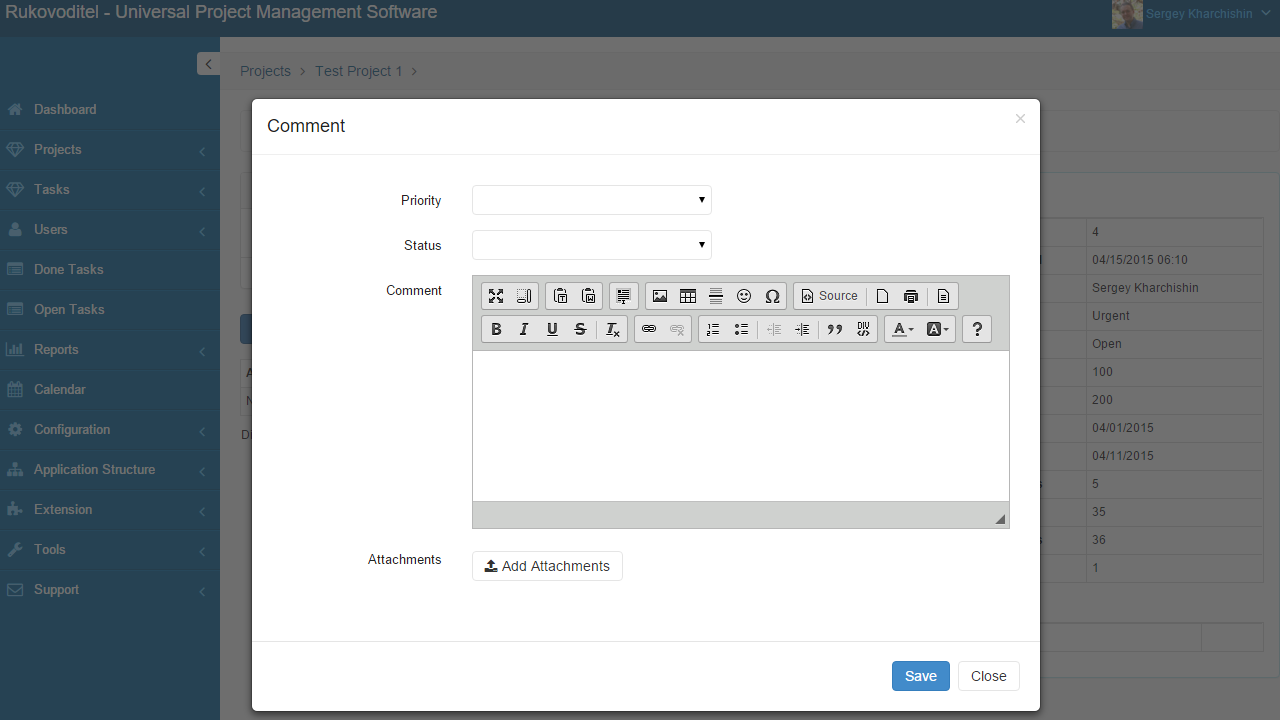 Notify when new Comment added - Rukovoditel - Open Source Project Management Software