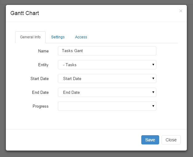 Create Gantt Charts Easily In Rukovoditel Project Management Software