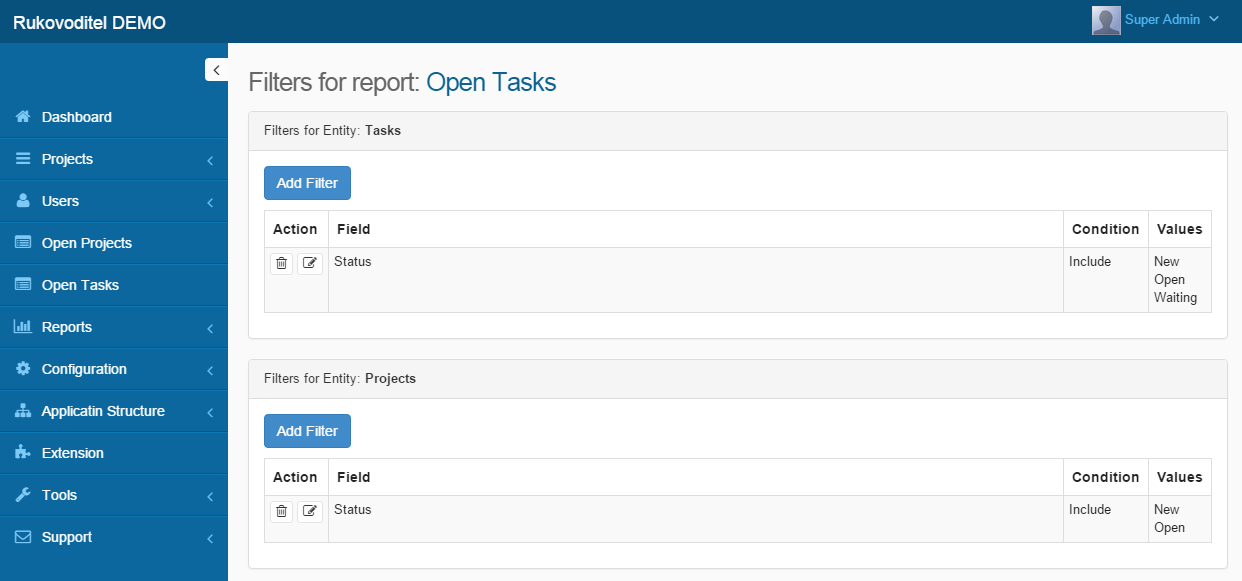 - Rukovoditel - Open Source Project Management Software