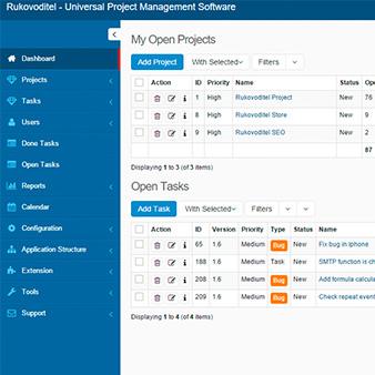 Open Source ERP and CRM | Rukovoditel